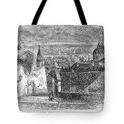 Prague: Castle Stairs Tote Bag