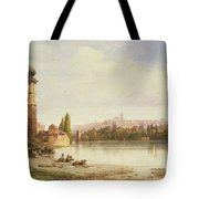 Prague Czechoslovakia Tote Bag