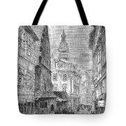 Prague: Jewish City Hall Tote Bag