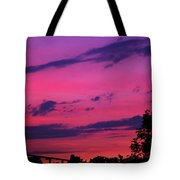 Prague Sunset Tote Bag