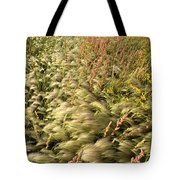 Prairie Crop With Weeds Tote Bag