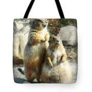 Prairie Dog Formal Portrait Tote Bag