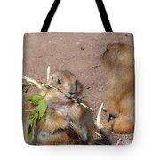 Prairie Dogs Tote Bag