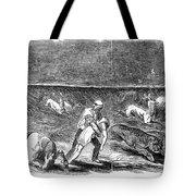 Prairie Fire, 1844 Tote Bag