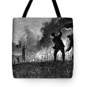 Prairie Fire, 1874 Tote Bag