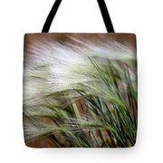 Prairie Grass, Badlands National Park Tote Bag