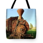 Prairie Train Tote Bag