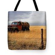 Prarie Truck Tote Bag