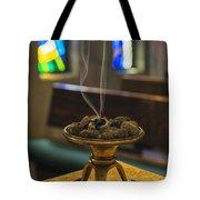 Prayers Rise Like Incense Tote Bag