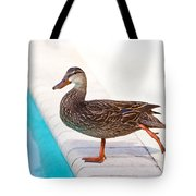 Pre Swim Stretch Tote Bag