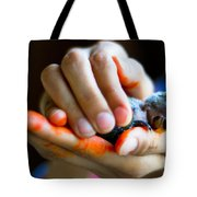 Precious Life Tote Bag by Syed Aqueel