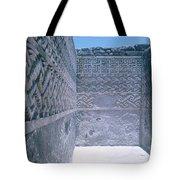 Prehistoric Ruins Of Mitla Tote Bag