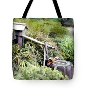Preparation For The Tea Ceremony Tote Bag