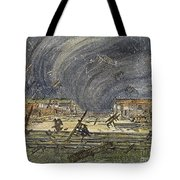 Kansas Cyclone, 1887 Tote Bag