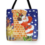 Present From Santa Tote Bag by Tony Todd