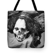 Preserved Remains In Nazca Tote Bag by Darcy Michaelchuk