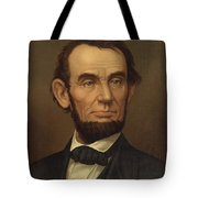 President Of The United States Of America - Abraham Lincoln  Tote Bag