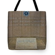 President Ronald Reagan Resting Place Tote Bag