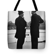 President Roosevelt And Gifford Pinchot Tote Bag