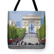 President Sarkozy Tote Bag