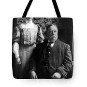 President William Howard Taft With Daughter Tote Bag by International  Images