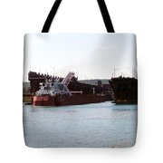 Presque Isle Ship Loading Tote Bag