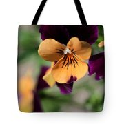 Prettiest Pansy Tote Bag