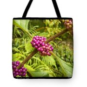 Pretty In Pink Berrys Tote Bag