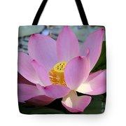 Pretty Pink Lotus Tote Bag
