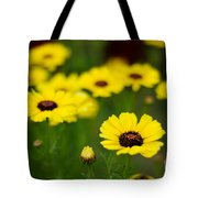 Pretty Yellow Tote Bag