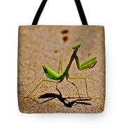 Preying Praying Tote Bag