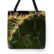 Prickly Pear Dangerous Beauty - Greeting Card Tote Bag