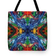 Primary Abstract I Design Tote Bag