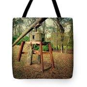 Primitive Sugar Cane Mill Tote Bag