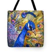 Prince Peacock Tote Bag
