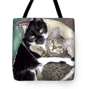 Princess And Little Rocky Tote Bag