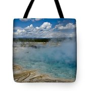 Prismatic Spring Yellowstone Tote Bag