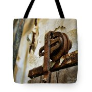 Prison Door Tote Bag