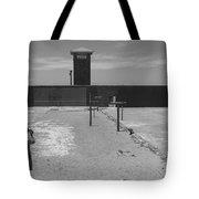 Prison Yard Tote Bag