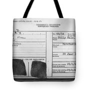 Prisoner Id Tote Bag