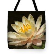 Pristine Water Lily Tote Bag