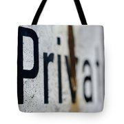 Private Tote Bag