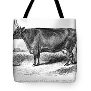 Prize Devon Cow, 1855 Tote Bag