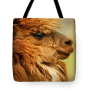 Profile Of A Camelid Tote Bag