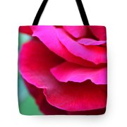 Profile Of A Rose Tote Bag