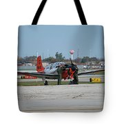 Propeller Plane Chicago Airplanes 09 Tote Bag