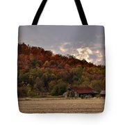 Protected By Hills Many Years Tote Bag