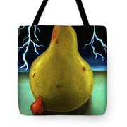 Protecting Baby 9 The Lightening Storm Tote Bag