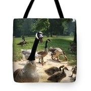 Protective Mad Mama Canadian Goose Tote Bag