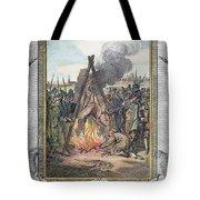 Protestant Martyrs, 1563 Tote Bag